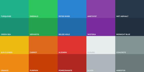 flat-colors